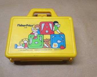 Fisher Price Lunchbox Eighties 1980s Toy