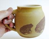 Golden Toad Mug - 12oz, coffee, tea, frog, amphibian