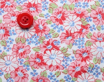 Fat Quarter size Vintage Feedsack - 83