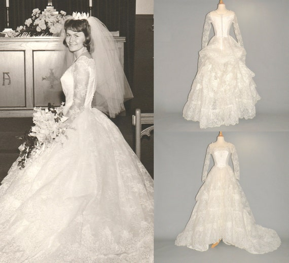 Vintage Wedding Dresses 1960s