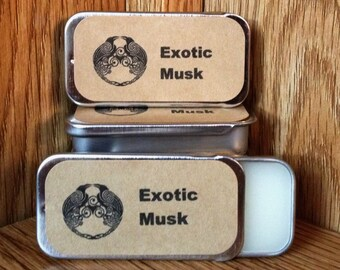 Exotic Musk Solid Perfume Balm