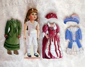 The Steiner Wood Doll with Outfits