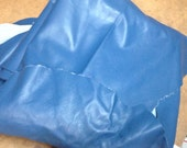 628RMNT.  Blue Leather Cowhide