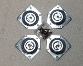 Package of 4 T-Plates for Attachment of Sofa Legs FREE SHIPPING