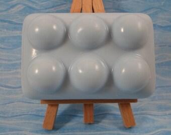 Massage Soap   Goat's Milk Soap   Large Bar Soap   Bar Soap   Handmade Soap   Choose Your Scent   Gift for Him   Gift for Her   Blue Soap