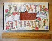 Flower Alphabet Rubber Stamp Set Cynthia Hart Rubber Stampede