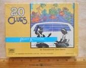 Vintage 20 Clues Plant Kingdom Card Game 1991 Whitehall No7108