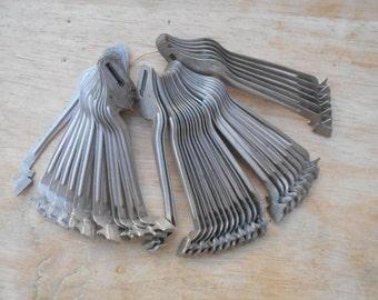 Antique Typewriter Striker Keys Set of 42
