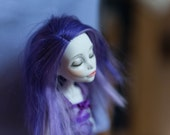Lore - The Sleeping Banshee-  A Recycled & Repainted Monster High Doll
