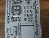 Studio Calico SCHOOL stamp set  - NIP