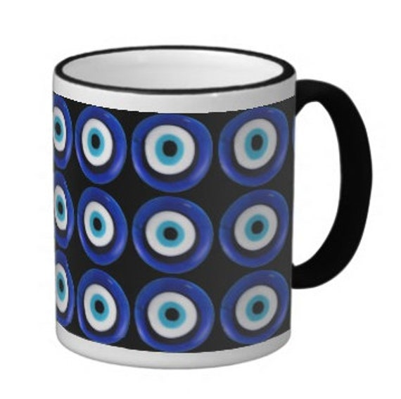 Evil Eye Coffee Cup