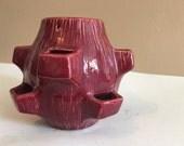 Vintage Strawberry Pottery Planter