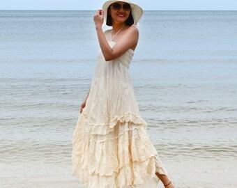 Please.....White Cotton long dress