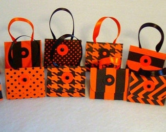 Set of 12 Purse Party Favors with Hershey Nugget Candy