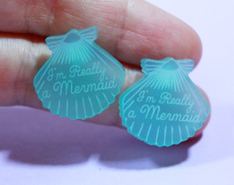 turquoise earrings. Mermaid Jewelry. gifts for her. gifts for her. stud earrings. handmade earrings. beach jewelry. gifts for mermaids