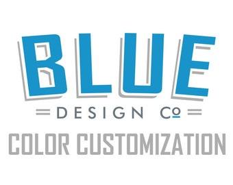Second Vinyl Color Customization
