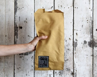 Bake House: No. 5 Bread - Canvas Tote Bag, Reusable cotton tote, Market Bag, Market Tote, Bread Bag, Gift for Her, Hostess Gift, Gift