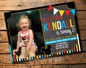 Oh TWO-dles! Mickey Mouse Clubhouse Invitation