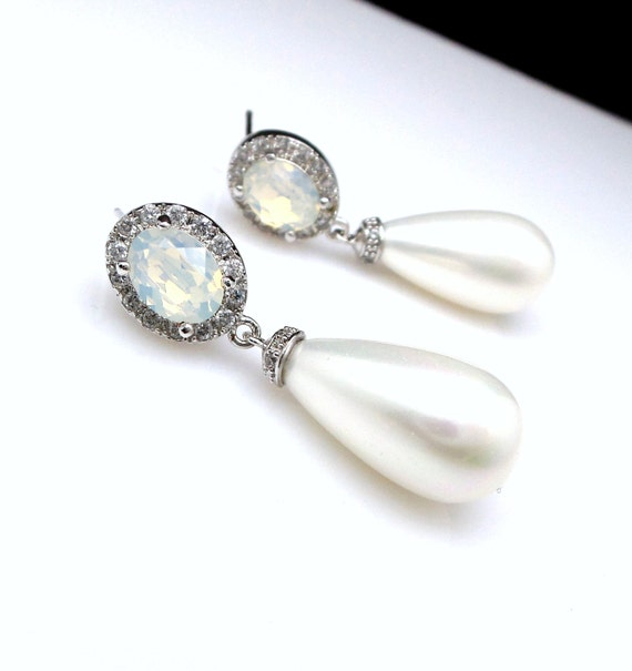 Etsy Wedding Gift Jewelry : wedding jewelry bridal earrings bridesmaid gift christmas prom ...