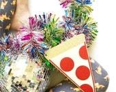 Pizza Slice Photo Prop - Birthday Photo Booth - Wedding - Selfie - Bachelorette