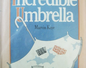 Vintage Book, The Incredible Umbrella by Marvin Kaye, Sherlock Holmes Pastiche