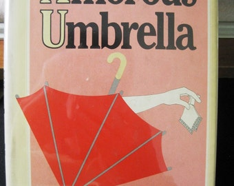 Vintage Book, The Amorous Umbrella by Marvin Kaye, Sherlock Holmes Pastiche