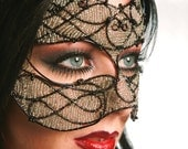 Black and silver masquerade ball mask,Unisex mask, venetian mask, costume, accessories, handmade mask
