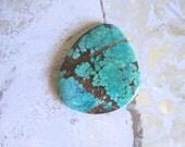 Green Turquoise Cabochon, TC1508, 115 Carat, 1 pc , Gemstone Cabochon