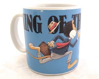 King of the Commute, Vintage Coffee Mug (G2)