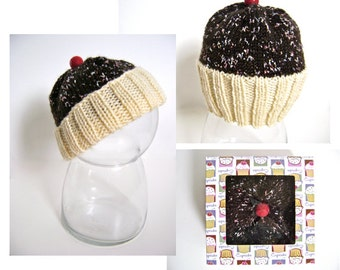 Two Patterns One Price - Cupcake Hat and Toy - PATTERN