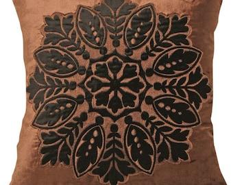 Attala Velvet Embriodered Cushion Cover