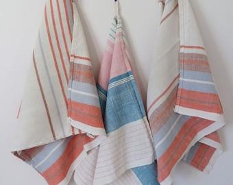 3 x Danish vintage tea towels