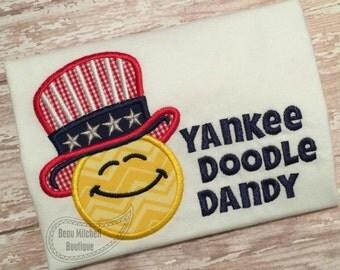 Yankee doodle dandy applique