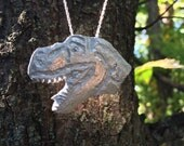 Dinosaur Necklace, Dinosaur Jewelry, Dinosaur, Dino Necklace, Dinosaur Charm, T Rex Necklace, Dinosaur Pendant, Necklace, Animal Necklace