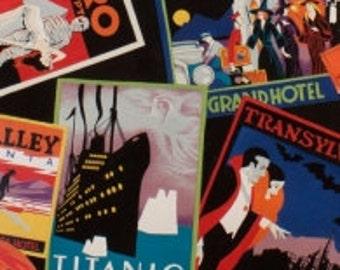 Halloween Favorite Haunts -Alexander Henry Fabric 1 Yard