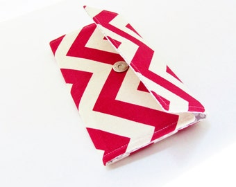 Red Chevron Women's Wallet