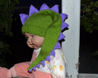 Baby Infant Newborn  dinosaur dragon crocodile aligator  hat. Halloween costumes   Photo Prop