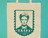 Frida Kahlo Cotton Tote Bag