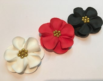 50 Royal Icing Flowers for Cake Decorating