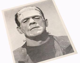 Boris Karloff Frankenstein Collectible Publicity Promo Photo Studio Copy