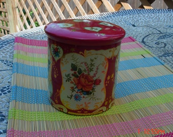 Vintage Royal Kerry Fruit Drops Tin - Made in England