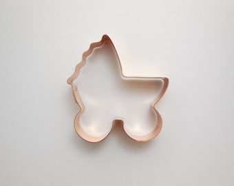 Baby Buggy ~ Copper Cookie Cutter - Hand Crafted by The Fussy Pup