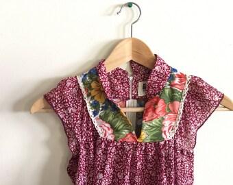 sleeveless malama sophisticates hawaii maxi dress floral small small liberty