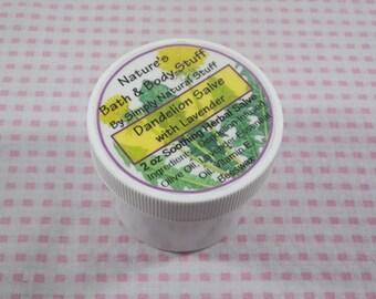 Dandelion Salve With Lavender 2oz