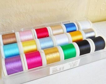 Box Of Madeira Thread 18 Spools