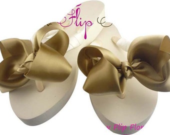 Shop the Bow Flip Flops huge selection of Bridesmaid & Wedding  Flip Flops