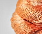 Too much Aperol Spritz OOAK - Silk Lace Yarn
