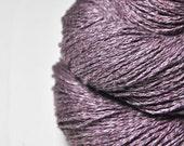 Withered magnolia OOAK - Silk/Linen Fingering Yarn