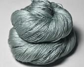 Fading gray lichen - Silk Lace Yarn