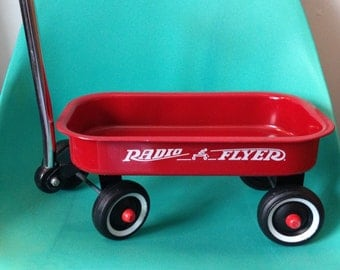 Radio Flyer Mini Wagon DIY PLANTER / BOOKSHELF